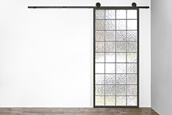 "29"" x 83"" Acrylic Sliding Barn Door"