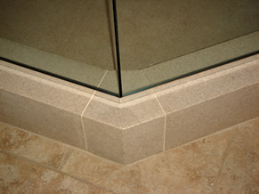 Curbstile Shower Curb System
