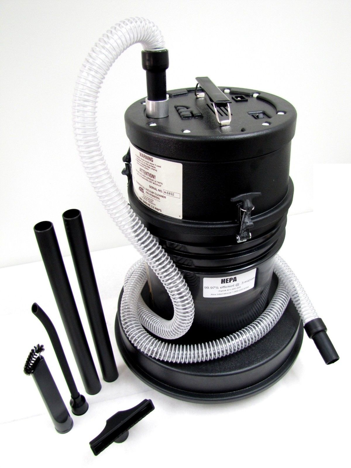 HIGHCAPVAC - High Capacity Hepa Vacuum