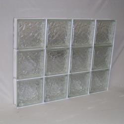 Ice custom made glass block windows for Where to buy glass block windows