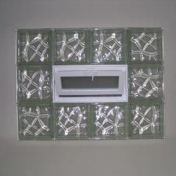Nubio Powerflex Glass Block Window 32x24x3