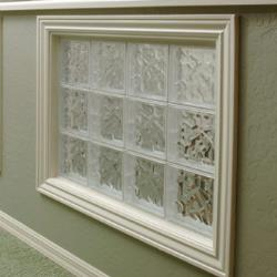 Crystal view acrylic block windows for Acrylic glass block windows