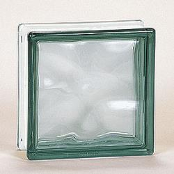 Nubio Glass Block - Gray - 8x8x3