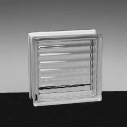 "4"" Xrib Glass Block - 12x12x4"